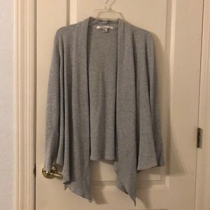 Jackets & Blazers - LIKE NEW Love21 Maternity Gray Cover Up